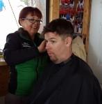Danielle MH WSAR Haircutting